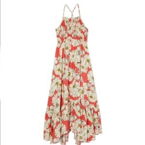 NWT! Free People Heatwave Printed Maxi Size XS